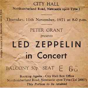 Led Zeppelin - Newcastle 1971 download flac mp3