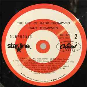 Hank Thompson And The Brazos Valley Boys - The Best Of Hank Thompson And The Brazos Valley Boys download flac mp3