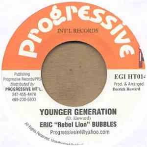 "Eric ""Rebel Lion"" Bubbles - Younger Generation download flac mp3"