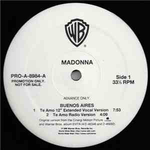 Madonna - Buenos Aires download flac mp3