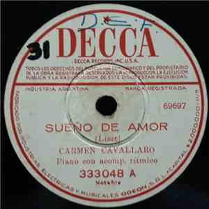 Carmen Cavallaro - Sueño De Amor / Amante Soñador = Dream Lover download flac mp3