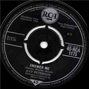 Ray Peterson - Answer Me / Goodnight My Love, Pleasant Dreams download flac mp3
