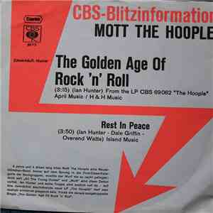Mott The Hoople - The Golden Age Of Rock 'N' Roll download flac mp3