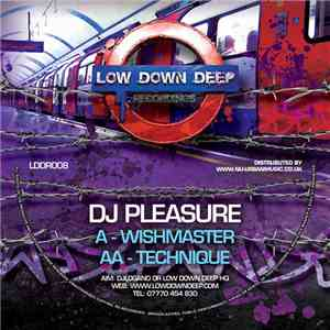 DJ Pleasure  - Wishmaster / Technique download flac mp3