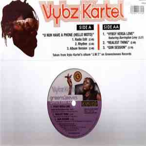 Vybz Kartel - U Nuh Have A Phone download flac mp3