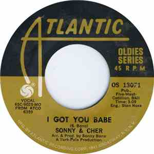 Sonny & Cher - I Got You Babe / Just You download flac mp3