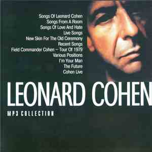 Leonard Cohen - Mp3 Collection download flac mp3