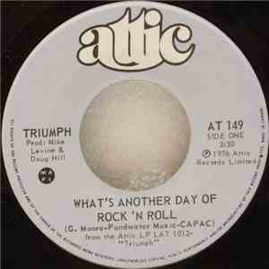 Triumph  - What's Another Day Of Rock 'N Roll download flac mp3