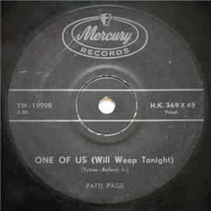 Patti Page - One Of Us (Will Weep Tonight) download flac mp3